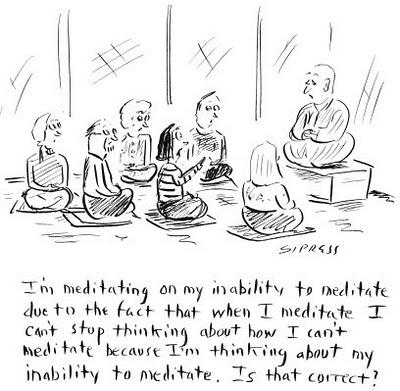 meditation joke
