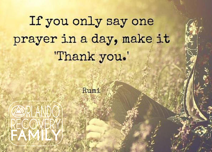 if you only say one prayer.rumi